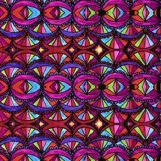 Eye See You... fabric by joonmoon on Spoonflower - custom fabric