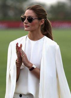 Olivia Palermo Fashion - Blazer Capa + Bracelet (Lojas Marisa)