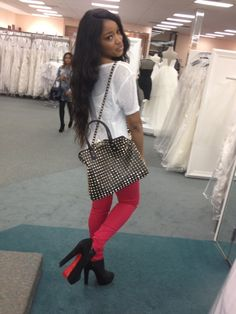 keke palmer - can't even say how much i'm lovin this look! the most perfect louboutins.