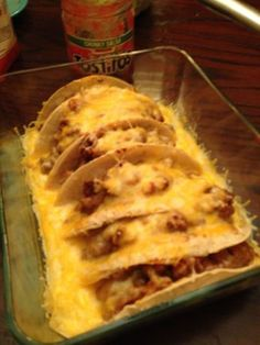 Oven Baked Tacos These are great for big groups! The turn out fantastic!