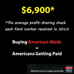 Buying American-Made = Americans Getting Paid
