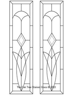 ★ Stained Glass Patterns for FREE ★ glass pattern 839 ★