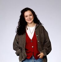 """Darlene on the TV show """"Roseanne"""" was a disruptive vegetarian who challenged her family's business, which served meat. The plotline of the disruptive vegetarian stereotype is usually about how to neutralize the troublesome anti-social vegetarian. ("""