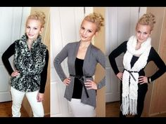 One Shirt - Three Different Ways!    DAILY VLOGS  http://www.thesacconejolys.com    BLOG  http://www.annasaccone.com    FORMSPRING  http://www.formspring.me/AnnaSaccone    TWITTER  http://twitter.com/AnnaSaccone    FACEBOOK  http://facebook.com/AnnaSaccone  http://facebook.com/TheStyleDiet    DAILYBOOTH  http://www.dailybooth.com/AnnaSaccone    ...