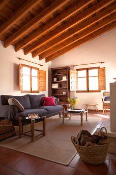 De woonkamer van Villa Faboosh.