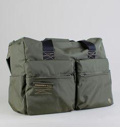 Mandarina Duck Isi 2-Pocket Duffle Bag - Sage