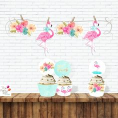 Let's Flamingle GARLAND – thepartykitshop