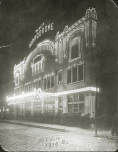 Talbot's Hippodrome, Sixth and Market Streets. (1912) Missouri History Museum