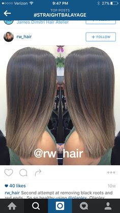 71 most popular ideas for blonde ombre hair color - Hairstyles Trends Brown Ombre Hair, Brown Blonde Hair, Ombre Hair Color, Hair Color Balayage, Brunette Hair, Hair Highlights, Cabelo Ombre Hair, Cinnamon Hair, Hair Looks