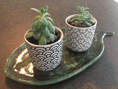 Keramikfad - hvid ler