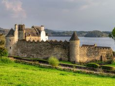 Parkes Castle, Lough Gill, Co. Leitrim, Ireland.