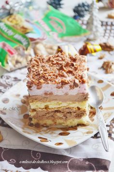 Polish Desserts, Polish Recipes, Dessert Cake Recipes, Cakes And More, Food Inspiration, Food And Drink, Cooking Recipes, Yummy Food, Sweets
