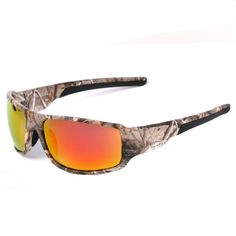 af969385cab MOTELAN Polarized Camouflage Sports Sunglasses for Men s Fishing Hunting  Boating Sun Glasses