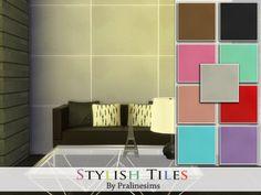 #Sims4 | Pralinesims' Stylish Tiles