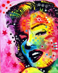 ✜ Marilyn by Drussoart ✜ Pop Art - ✯ http://www.pinterest.com/PinFantasy/gente-~-marilyn-monroe-art/