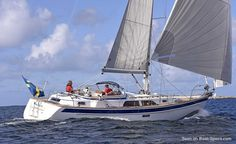 Hallberg-Rassy 40 MkII specifications and details on Boat-Specs.com