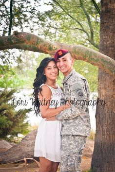 My bf wants to go into the marines so I want to do this just with his marines uniform on. But that won't be for a long time.