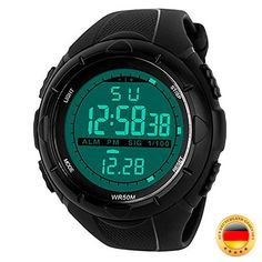 Men's Watches Punctual 2018 New Energy Solar Watch Mens Digital Sports Led Watches Men Solar Power Digital Electronic Watches Relojes Montre Homme Aesthetic Appearance