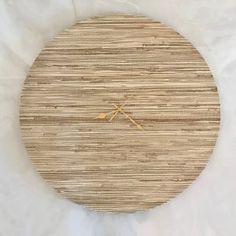 Safari Clock - 60cm Shop Clocks - Kirsty Badenhorst Interiors | Ikat & Ivory | Online Store Interior Decorating, Interior Design, Gold Hands, Scatter Cushions, Home Renovation, Ikat, Clocks, Safari, Ivory