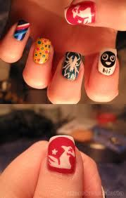 My Chemical Romance nails