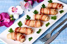 Baconbe tekert, ízletes csirkefalatkák -  Isteni ebéd vagy vacsora