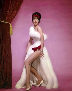 GYPSY (1962) - Natalie Wood as exotic dancer 'Gypsy Rose Lee' - Warner Bros.