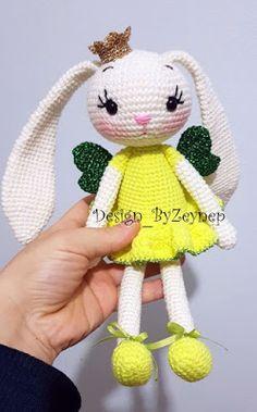 Leithygurumi: Princess Bunny Lemon English Pattern / Prenses Tavşan Limon Türkçe Tarif