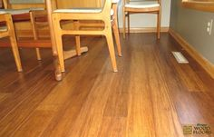Dasso Strand Woven Bamboo Caramel Solid traditional wood flooring