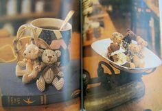 Japanese DIY  Miniature Fabric Teddy Bear Patterns