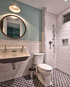 Home Has an Indoor Slide — Indoor Slide Doubles as a Laundry Chute Bad Inspiration, Bathroom Inspiration, Bathroom Trends, Bathroom Renovations, Bathroom Ideas, Bathroom Showers, House Remodeling, Bathroom Organization, Bathroom Graffiti