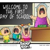 Πρώτη μέρα στο σχολείο