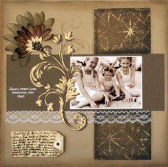 - Scrapbook.com love this for my heritage album