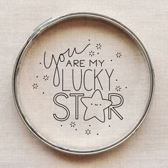 pattern // you are my lucky star