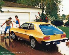 My first car was a Ford Pinto.