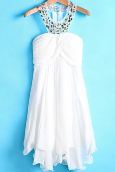 perfect white dress it`s elegant