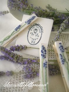 Lavender pins...Not my normal style but these are gorgeous.
