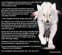 Cherokee legend
