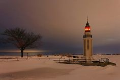 Rockwell Lighthouse - Bray's Point Light, Wisconsin