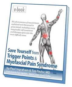 Picture of the cover of my ebook, Save Yourself from Trigger Points and Myofascial Pain Syndrome.