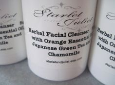 Vegan Orange Essential Oil Herbal Facial by starletandjuliet, $12.95