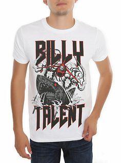 Billy Talent Robo-Shark T-Shirt