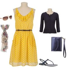 Navy and Blue Bridal Shower Outfit super cute! Thanks Maurices for inspiration!