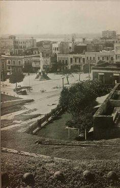 El Viejo San Juan. San Juan, Puerto Rico. 1919.