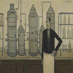 Bernard Buffet (1928-1999) Le bar du Liberty's, 1950