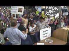 Rebellion In The USA - Protesters Attempt To Arrest Albuquerque Police Chief