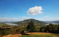 Pilis.  Kilátás Dömös felettről. Hungary Heart Of Europe, Holiday Destinations, Holiday Travel, Homeland, My Dream, Beautiful Places, Holidays, Landscape, Country
