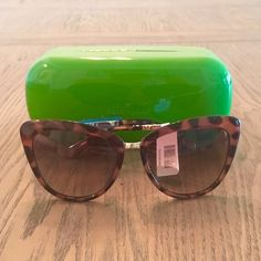 20% Off Sale Kate Spade CatEye Tortuous Sunglasses ✨Kate Spade Kandi Tortuous Sunglasses✨ NWT ✨Comes with Case✨ kate spade Accessories Sunglasses