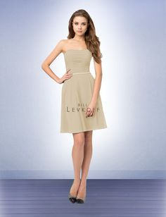Champagne Bridesmaid Dress Style 766