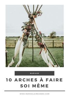 Mariage : 10 arches originales à faire soi même Decor Photobooth, Wedding Initials, Woodland Party, Weeding, Maid Of Honor, Plant Hanger, Arches, How To Memorize Things, Wedding Decorations