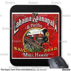 The Sugar Cane Train with Baldwin Locomotives Mouse Pad; www.railphotoexpress.biz